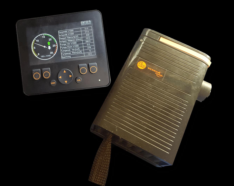 Fahrsteuerung Diagnosegerät für Radlader